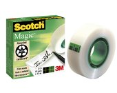 PLAKBAND 3M SCOTCH INVI 810 19MMX33M MAGIC